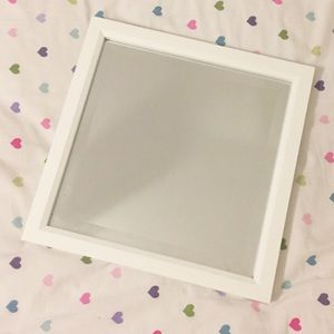 Other - White square mirror